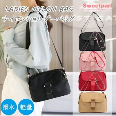 ショルダーバッグ レディース ミニショルダーバッグ 小さいバッグ ナイロンバッグ 軽い 斜めがけ 撥水 通勤 カバン 鞄