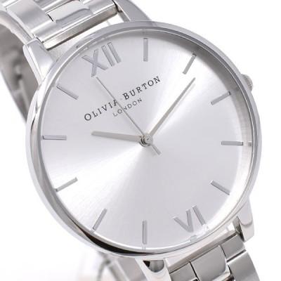 オリビアバートン 時計 ビッグダイヤル レディース 腕時計 Olivia Burton Big Dial Watch ステンレスベルト シルバー OB15BL22 あすつく