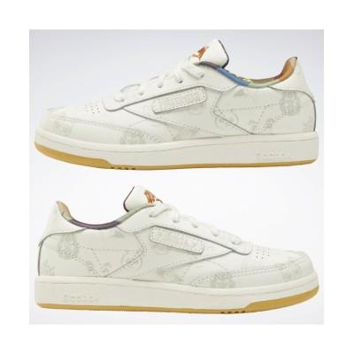 (reebok/リーボック)クラブ シー / Club C 85 Shoes/キッズ ホワイト