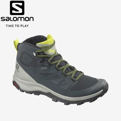 サロモン SALOMON OUTline Mid GORE-TEX L40996400 メンズ