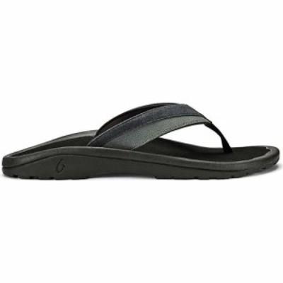 オルカイ OluKai メンズ サンダル シューズ・靴 Olukai Ohana Koa Sandal Lava Rock/Lava Rock