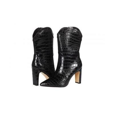 Chinese Laundry チャイニーズランドリー レディース 女性用 シューズ 靴 ブーツ ミッドカフ Everley - Black Croco
