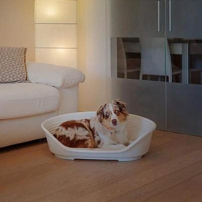 ファープラスト シエスタ SIESTA DX 8 犬 洗える ベット ベッド プラスチック ハウス ダークグレー