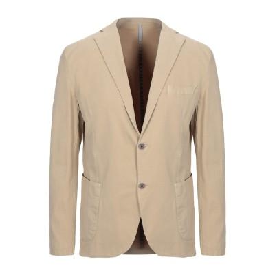 ALV ANDARE LONTANO VIAGGIANDO テーラードジャケット ベージュ 52 コットン 98% / ポリウレタン 2% テーラー
