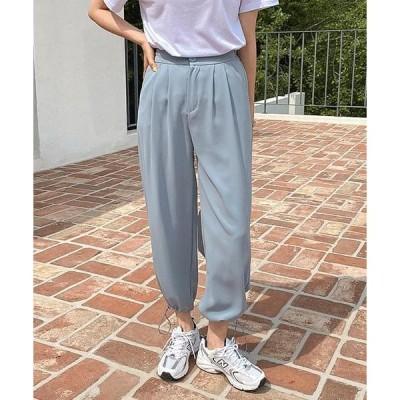 WITHMOMENT レディース パンツ penny string jogger slacks - 3color