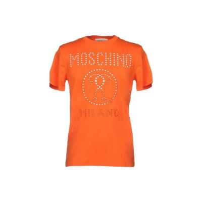 モスキーノ MOSCHINO T シャツ オレンジ XL コットン 100% T シャツ