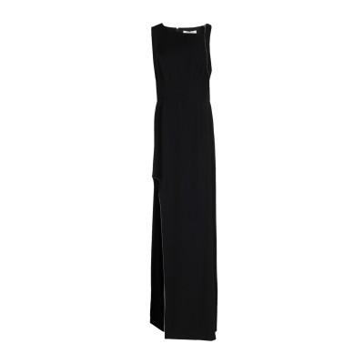ホルストン・ヘリテージ HALSTON ロングワンピース&ドレス ブラック 8 ポリエステル 100% ロングワンピース&ドレス