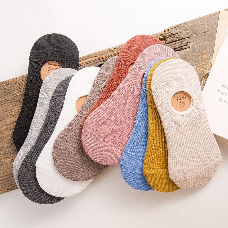 女生襪子 短襪 襪子 針織襪子 船襪 隨機款薄款輕鬆透氣襪子女生時尚襪子多顏色彈性襪子