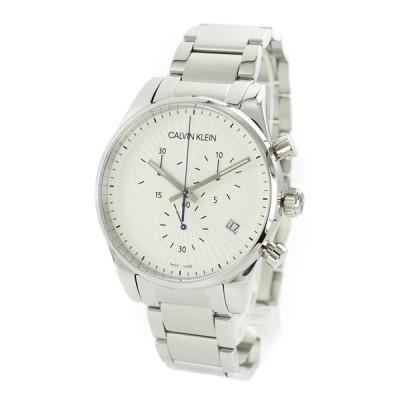 CALVIN KLEIN カルバンクライン メンズ Steadfast クロノグラフ シルバー ステンレス K8S27146 腕時計