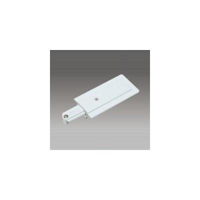 東芝 ライティングレール フィードインキャップ埋込形 白 15A 125V DR0261NW