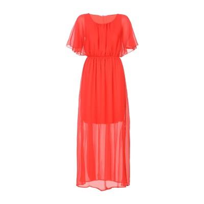 SH by SILVIAN HEACH ロングワンピース&ドレス レッド XS ポリエステル 100% ロングワンピース&ドレス