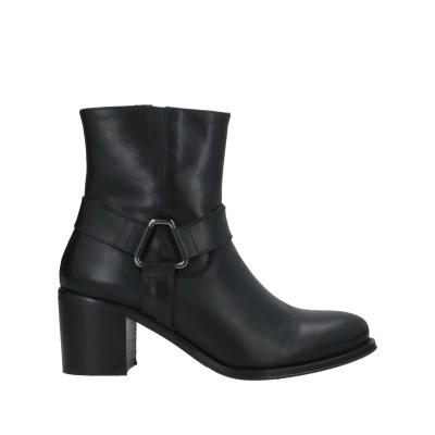 MOVIMENTI ショートブーツ ブラック 35 牛革(カーフ) ショートブーツ