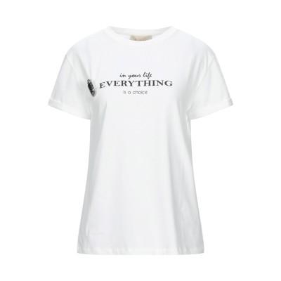 KAOS JEANS T シャツ ホワイト L コットン 100% T シャツ