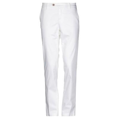 ロイ ロジャース ROŸ ROGER'S パンツ ホワイト 30 コットン 58% / レーヨン 40% / ポリウレタン 2% パンツ
