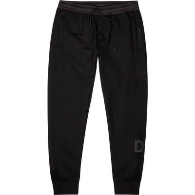 ドルチェ&ガッバーナ Dolce & Gabbana メンズ スウェット・ジャージ ボトムス・パンツ black logo jersey sweatpants Black