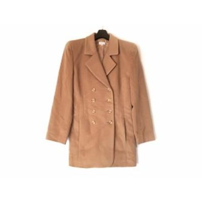 フォクシー FOXEY コート サイズ40 M レディース ブラウン 冬物【中古】20200131