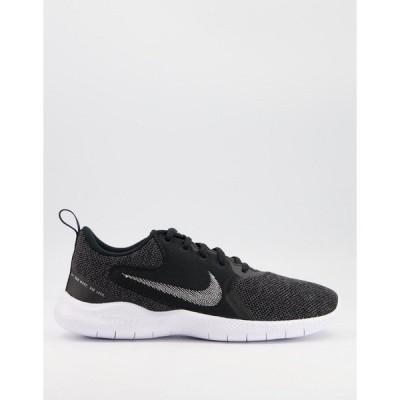 ナイキ レディース スニーカー シューズ Nike Running Flex Experience 10 sneakers in black Black