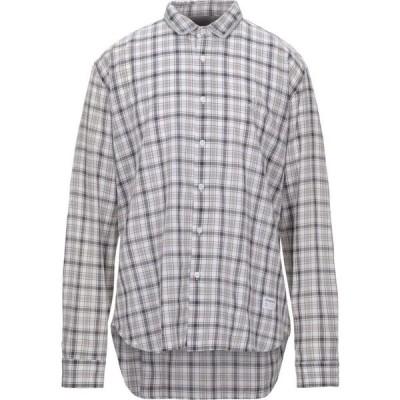ジェッカーソン JECKERSON メンズ シャツ トップス checked shirt Grey