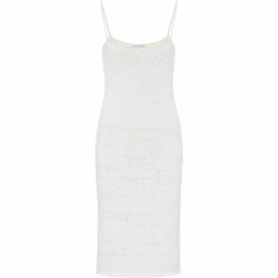 ボッテガ ヴェネタ Bottega Veneta レディース パーティードレス スリップドレス ワンピース・ドレス Cotton-blend knit slip dress Chal