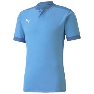 プーマ サッカー ユニフォーム ゲームシャツ TEAMFINAL21 ジャガードシャツ シルバーレークブルー 18 PU-704624-18