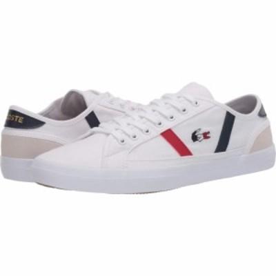 ラコステ Lacoste メンズ シューズ・靴 Sideline Tri 2 White/Navy/Red