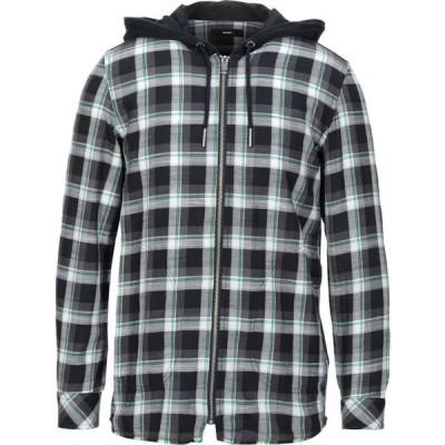 ディーゼル DIESEL メンズ シャツ トップス checked shirt Black