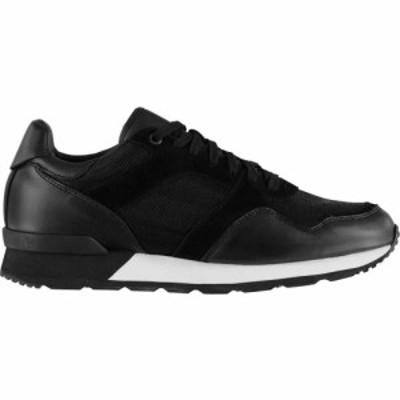 ファイヤートラップ Firetrap メンズ スニーカー シューズ・靴 Crescent Trainers Black/White