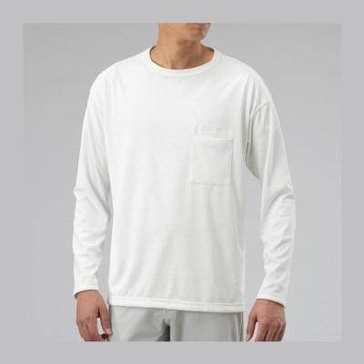 ◆◆送料無料 メール便発送 <ミズノ> MIZUNO ヘビーオンスQDロングスリーブTシャツ(ユニセックス) B2MA0001 (01) アウトドア