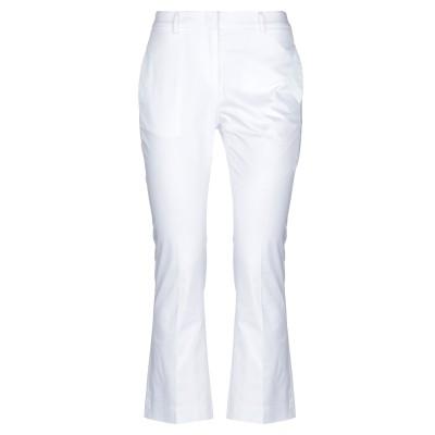 ARGONNE by PESERICO パンツ ホワイト 42 コットン 96% / ポリウレタン 4% パンツ