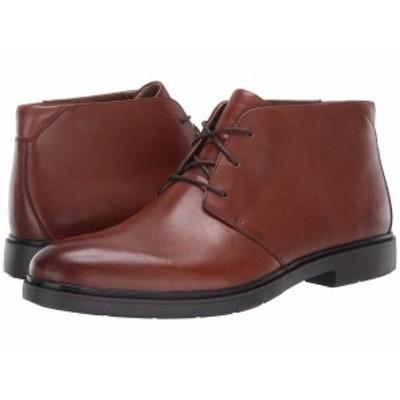 クラークス メンズ ブーツ・レインブーツ シューズ Un Taiior Mid Tan Leather