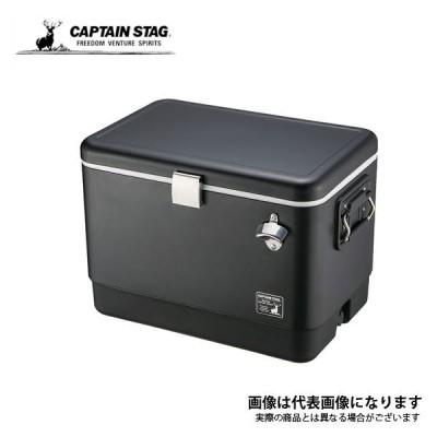 キャプテンスタッグ CSブラックラベル スチールフォームクーラー51L UE-75