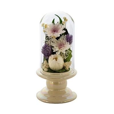 アートフォーシーズン 仏花 ●(白系)ミニ輪菊glass ホワイト プリザーブドフラワー