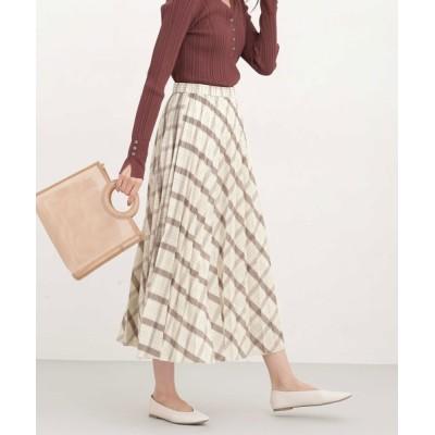nano・universe / レオファイン プリーツスカート WOMEN スカート > スカート
