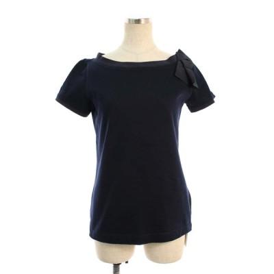 フォクシーニューヨーク Tシャツ カットソー 36331 T-shirt Charm Boat 半袖 38