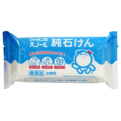 シャボン玉 スノール純石けん(180g)