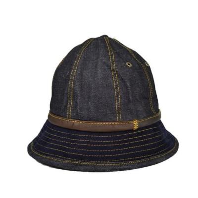 デニムメトロハット 秋冬 おしゃれ 大きいサイズ 59cm 57cm ビンテージ セール 帽子