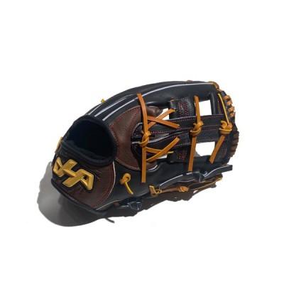 ハタケヤマ HATAKEYAMA 限定和牛 軟式用グラブ 内野手用 一般 カーキ 野球 軟式 グローブ 内野手 WN-2176