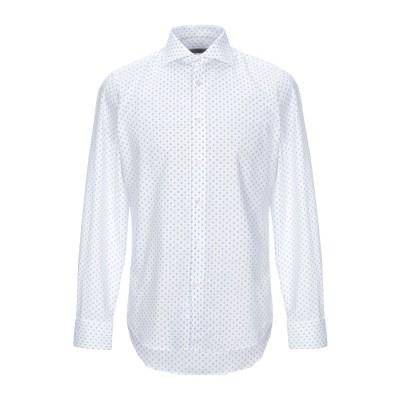 WEST COAST シャツ ホワイト 40 コットン 100% シャツ