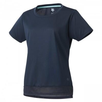 【メール便送料無料】 デサント 半袖Tシャツ レディース DMWRJA58-NV