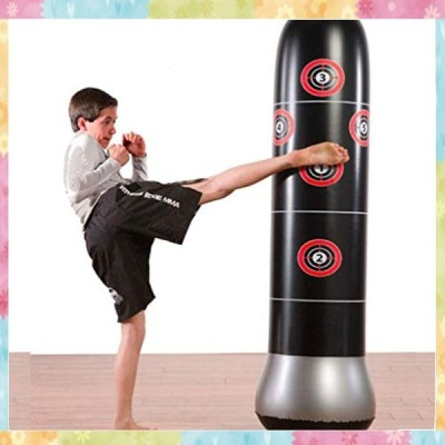 JanTeelGO サンドバッグ インフレータブルパンチバッグ ボクシング テコンドー ジム MMA 武術 総合格闘技 ストレス