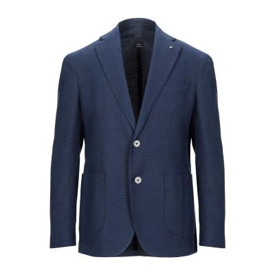 DURINI  Milano テーラードジャケット ブライトブルー 54 コットン 99% / ポリウレタン 1% テーラードジャケット