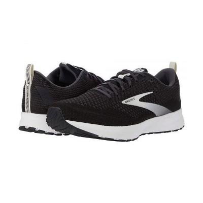 Brooks ブルックス メンズ 男性用 シューズ 靴 スニーカー 運動靴 Revel 4 - Black/Oyster/Silver