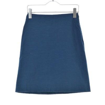 Sybilla Luxury Sportwear / シビラ ボーダー柄コットン スカート