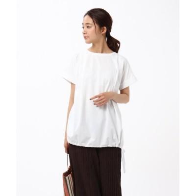 【アンタイトル】 バックタックカットソー レディース オフホワイト 01(S) UNTITLED