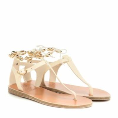 エンシェント グリーク サンダルズ Ancient Greek Sandals レディース サンダル・ミュール シューズ・靴 Asimina Shells leather sandals