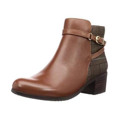 [アシナガオジサン] ブーツ 2810423 レディース マロンブラウンコンビ 24.5 cm
