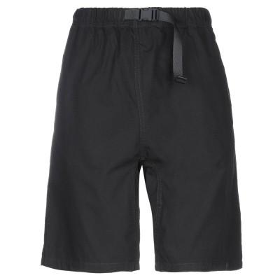 カーハート CARHARTT ショートパンツ&バミューダ ブラック XS コットン 100% / ポリエステル ショートパンツ&バミューダ