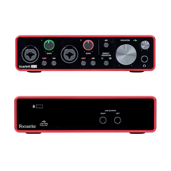 凱傑樂器 Focusrite Scarlett 2i2 新版三代 錄音介面 USB 介面 原廠公司貨