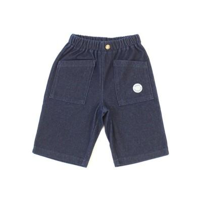 【Si・Shu・Non】 デニム5.5分アイスパンツ SKAPE パンツ, Kids' Pants