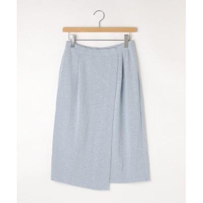 OFF PRICE STORE(Women)(オフプライスストア(ウィメン)) NATURAL BEAUTYラップ風ニットスカート